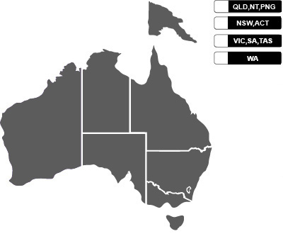 Toastmasters International Australia New Zealand And Papua New - Map of australia and new zeland